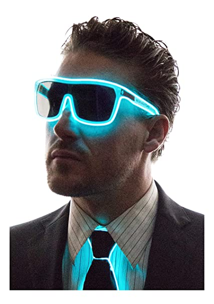Amazon.com: Neon Nightlife - Gafas de sol polarizadas, Azul ...