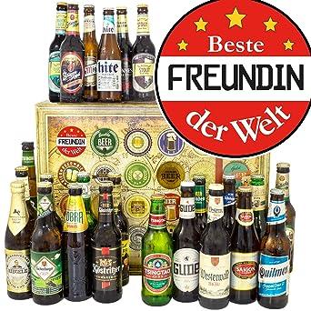 Beste Freundin 24 X Bier Welt Und De 18 Geburtstag Geschenk