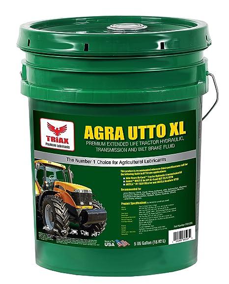 Triax Agra UTTO XL sintética mezcla Premium Tractor y transmisión aceite hidráulico – rendimiento extremo –