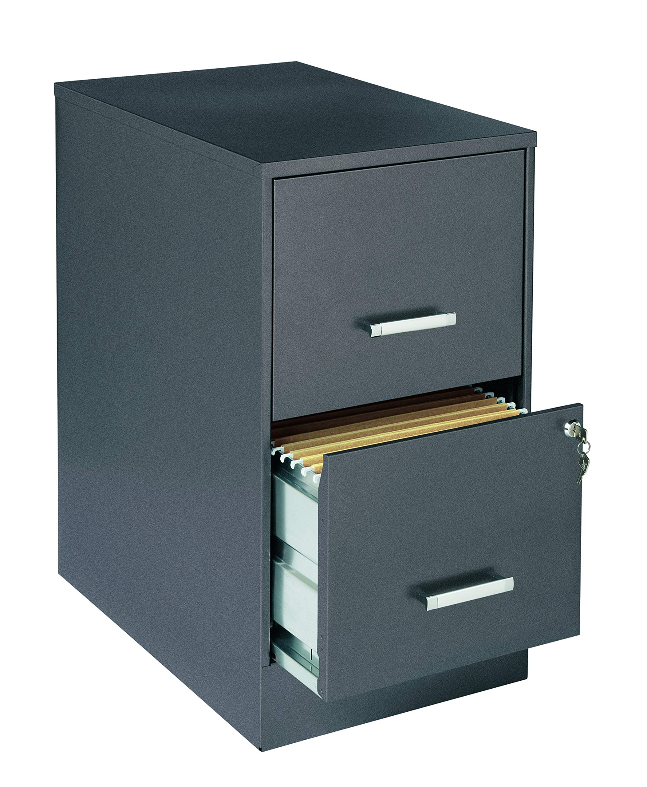 Lorell SOHO 22'' 2-Drawer File Cabinet LLR16871 by Lorell