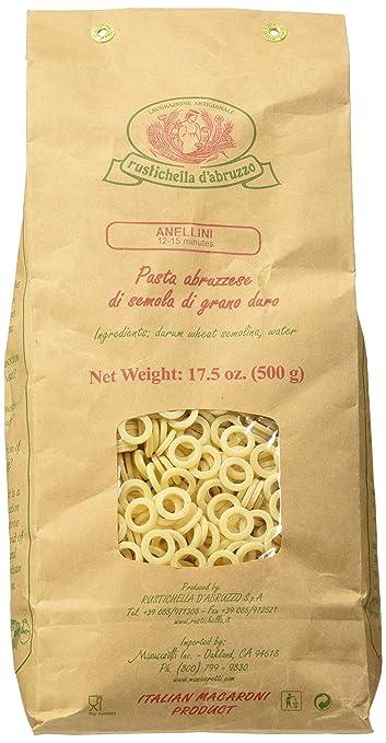 Rustichella D' Abruzzo Anellini Pasta Rings 17 Oz. Package