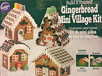 Wilton Build It Yourself Gingerbread Mini Village Kit