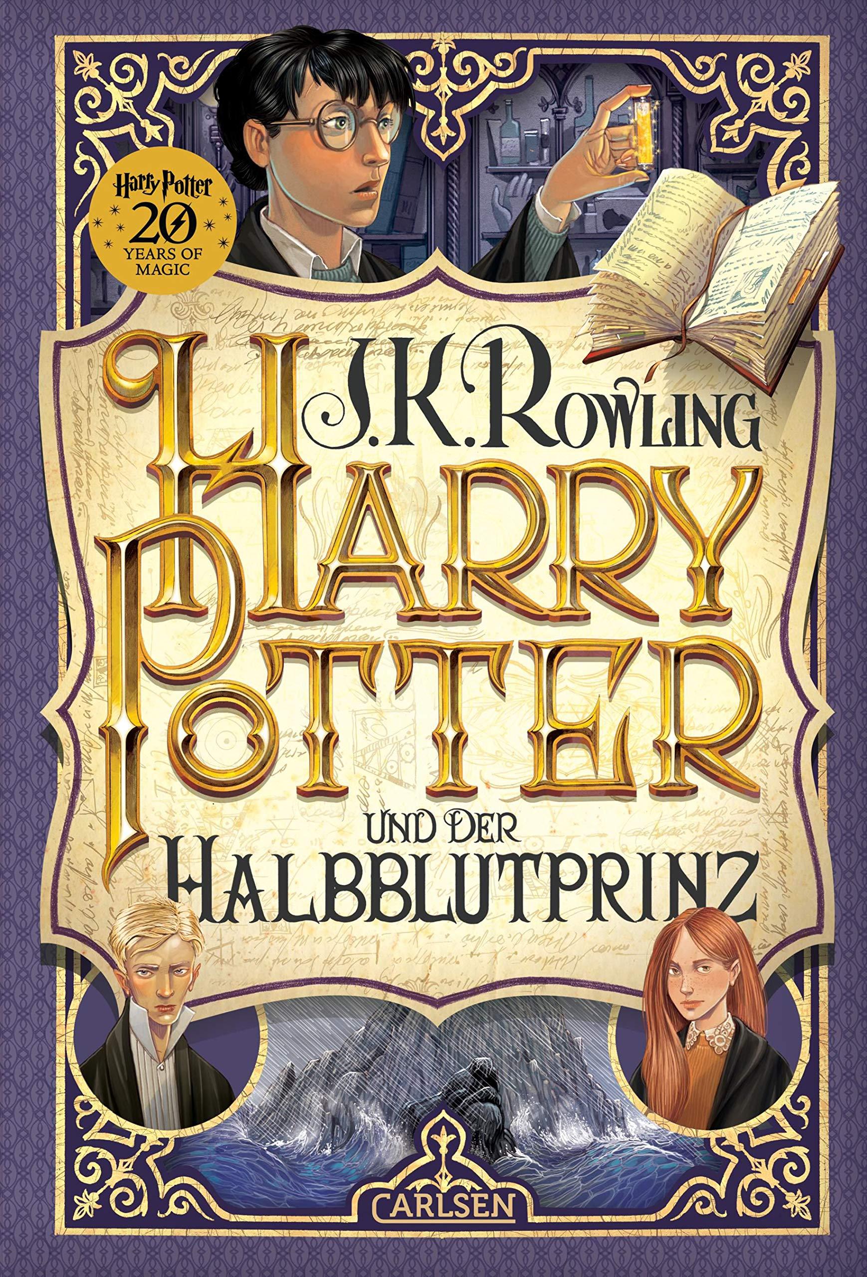 Harry Potter und der Halbblutprinz (Harry Potter 6) Gebundenes Buch – 31. August 2018 J.K. Rowling Klaus Fritz Carlsen 3551557462
