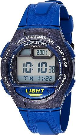 CASIO Reloj con Movimiento Cuarzo W-734-2A