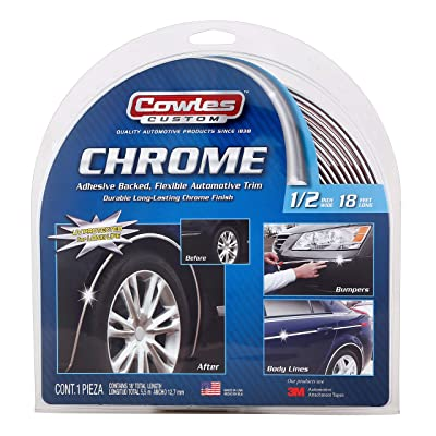 "Cowles S37750 1/2"" Custom Chrome 18': Automotive"