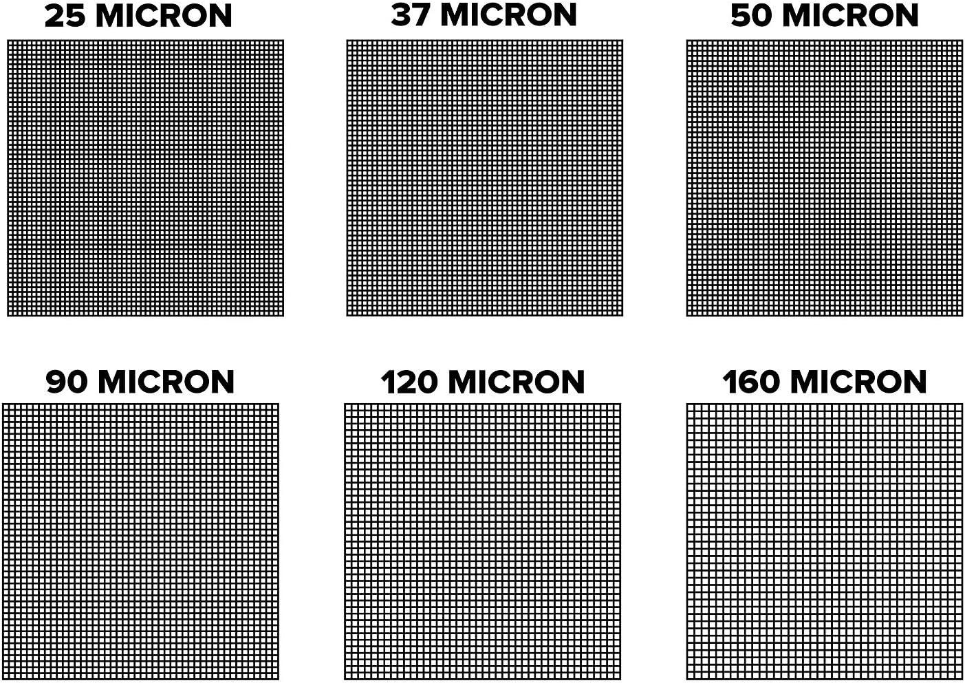 Premium Nylon Tea Filter Press Screen Bags 15 Micron Zero Blowout Guarantee 20 Pack 2 x 4 All Micron /& Sizes Available