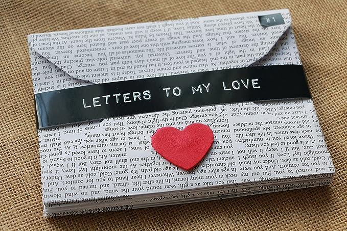 117a6d6a350a8 Oye Happy Unique Romantic & Cute Love Letters - 7pc: Amazon.in: Toys & Games