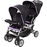Baby Trend SS76B77A Sit N' Stand Double Stroller, Optic Violet and Black