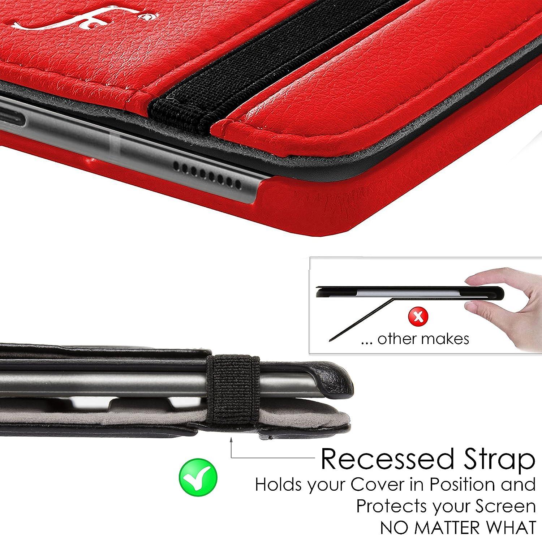 STILO BIANCO Forefront Cases Smart Case per Samsung Galaxy Tab 4 10.1 Cover Custodia Caso Rotazione Ultra Robusto con Protezione Dispositivo Completa e funzione Auto Sveglia//Sonno