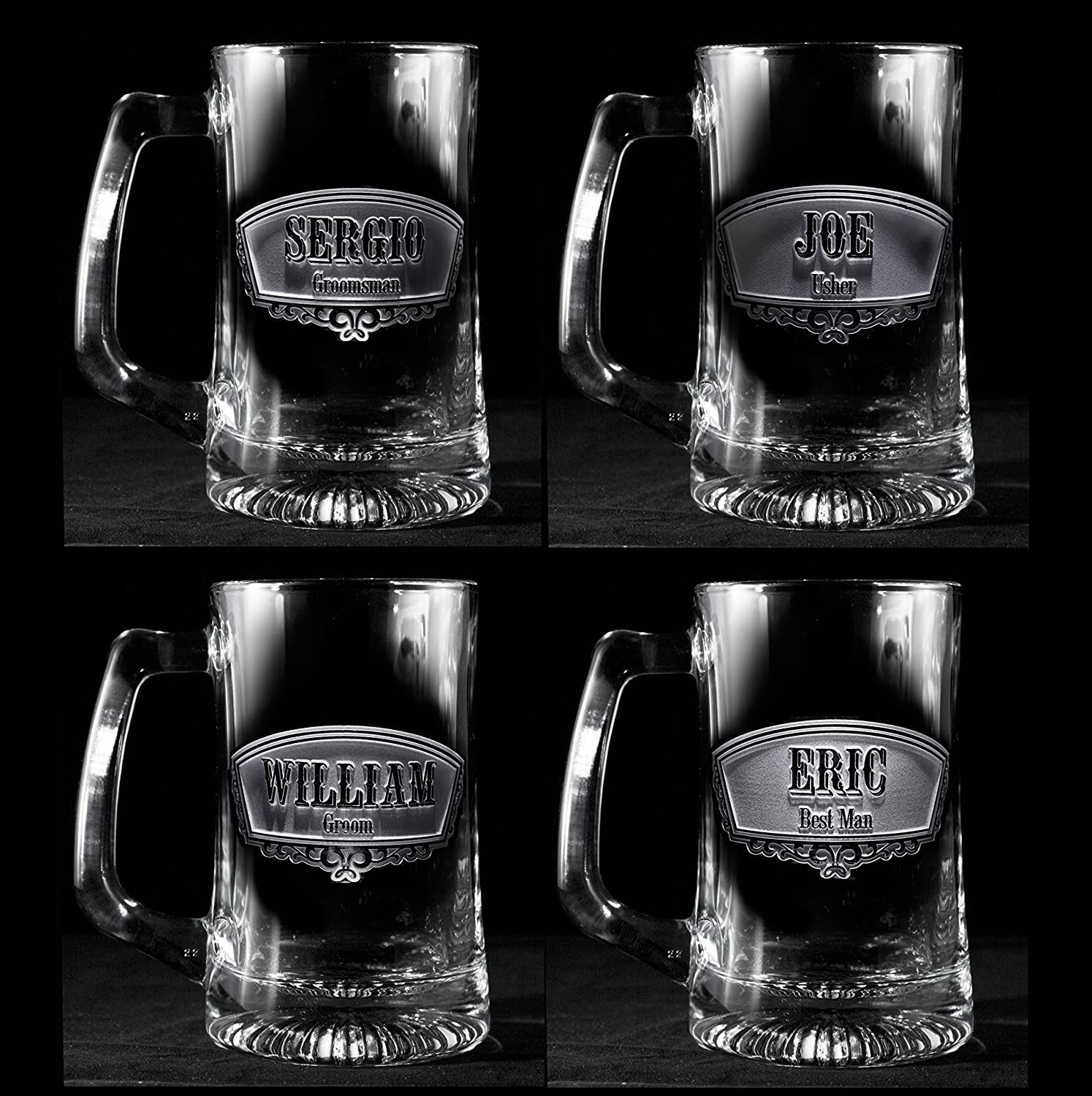Amazon Groomsmen Gift Ideas Best Man Beer Mugs Set Of 5 Handmade
