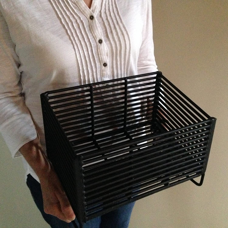amazon com wood pellet basket heater alternative heating source