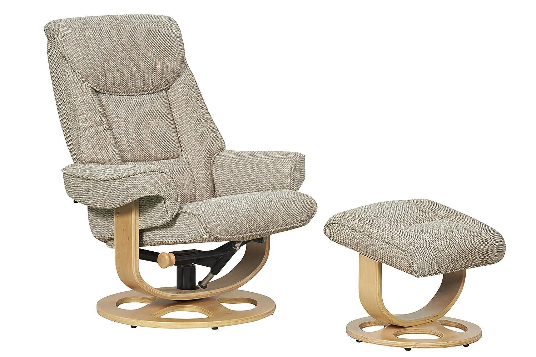 The Capri - Fabric Recliner Swivel Chair in Stone Amazon.co.uk Kitchen u0026 Home  sc 1 st  Amazon UK & The Capri - Fabric Recliner Swivel Chair in Stone: Amazon.co.uk ... islam-shia.org