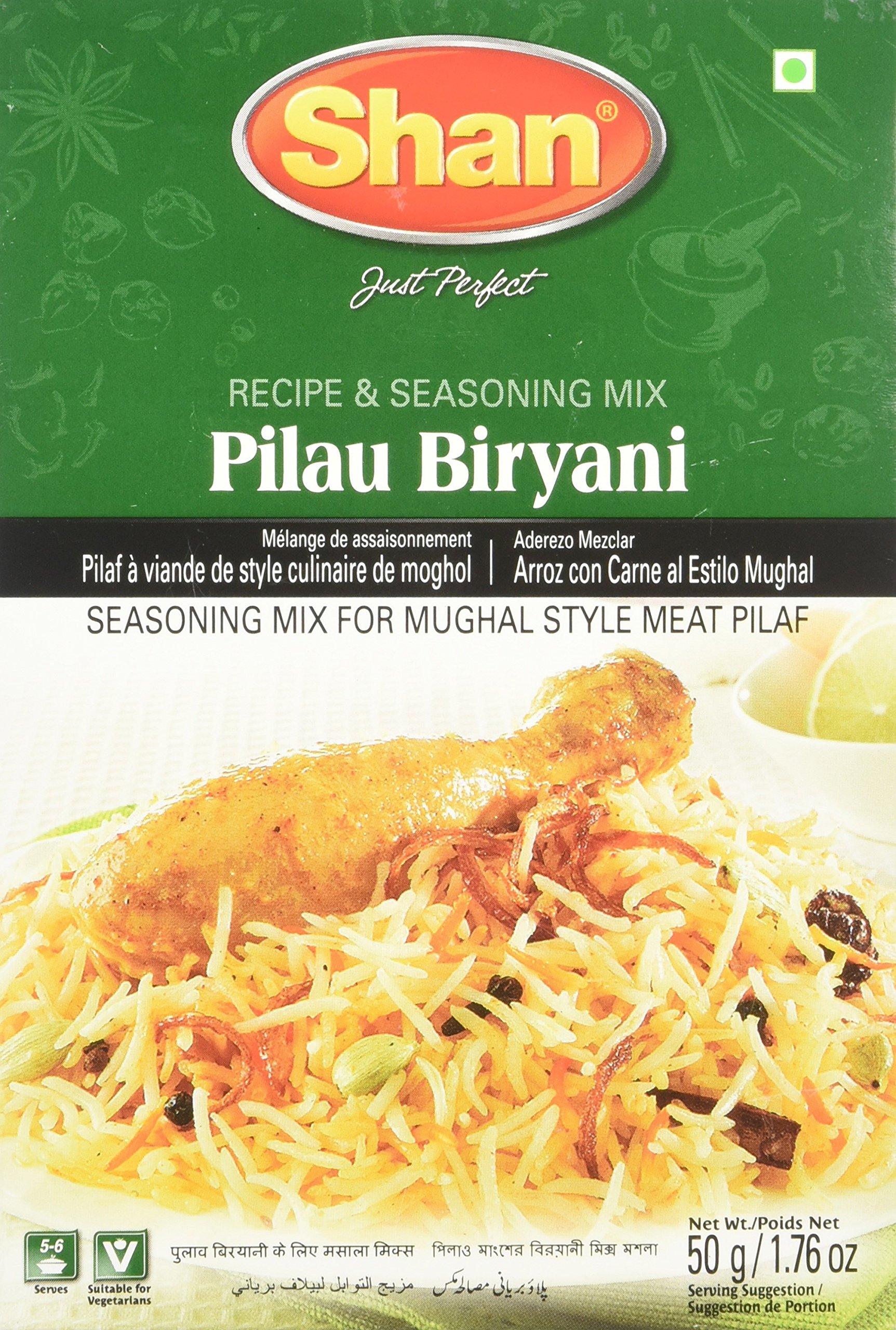 Shan Pilau Biryani Mix - 50 Gms X 6 Pcs