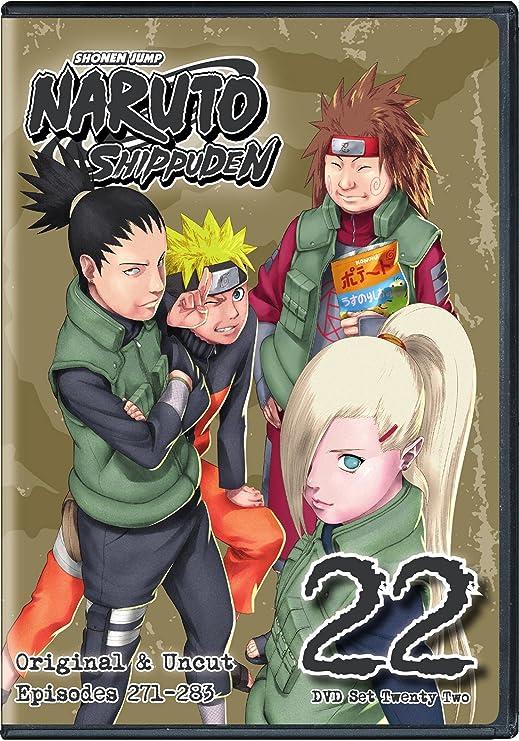 Naruto Shippuden Uncut Set 22 (ep 271-283): Amazon ca: DVD