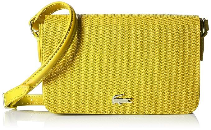 25871feec Lacoste Chantaco Small Crossover Bag, 006 Empire Yellow: Amazon.ca ...