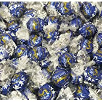 CrazyOutlet Lindt Lindor Dark Chocolate Candy Truffles, Blue Wrap Bulk Pack, 2 Lbs