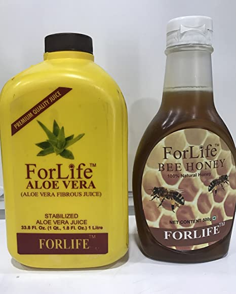 Buy Forlife Aloe Vera and Bee Honey Online at Low Prices in