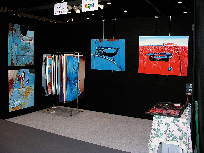 Bügel zum Aufhängen von Leinwänden     Gemälden, Modell  Europa, weiß, 10 Stück B01L7ICU6U | Haben Wir Lob Von Kunden Gewonnen  f8cc97