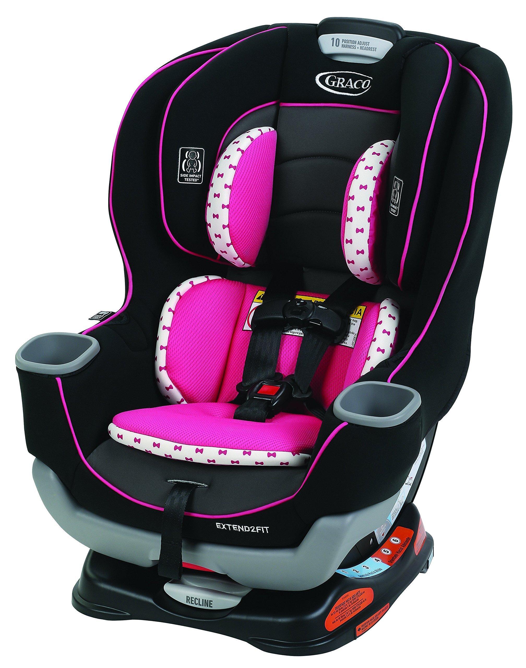 Graco Extend2Fit Convertible Car Seat, Kenzie