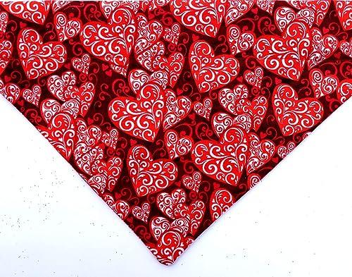 over the collar dog bandana personalized bandana over the collar bandana Valentines dog bandana Valentines bandana