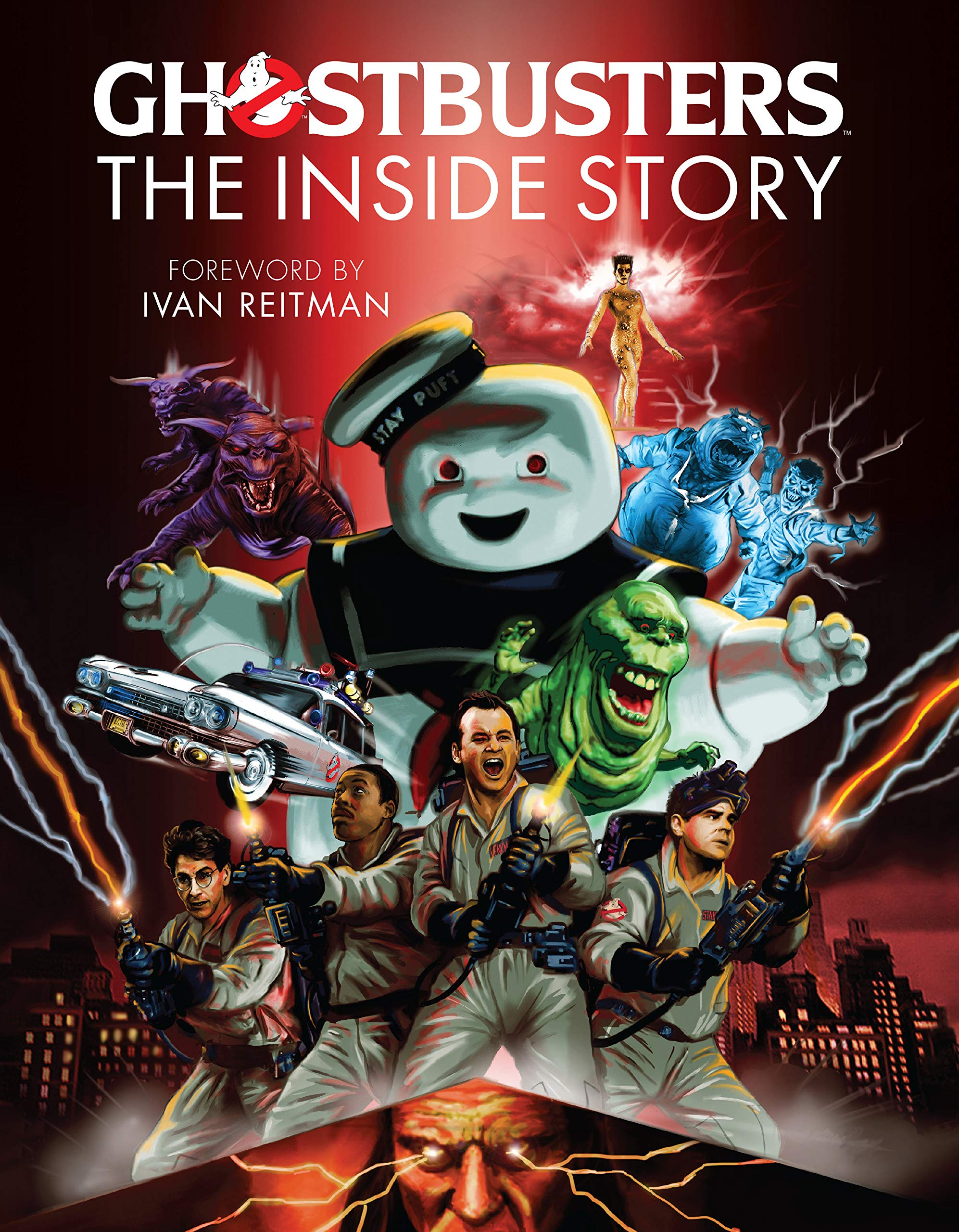Amazon Com Ghostbusters The Inside Story Stories From The Cast And Crew Of The Beloved Films 9781858758541 Mcallister Matt Books