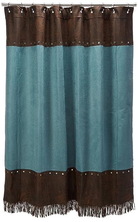 Amazon.com: HiEnd Accents Cheyenne Western Shower Curtain ...