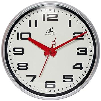 infinity wall clock. infinity instruments lexington avenue wall clock a