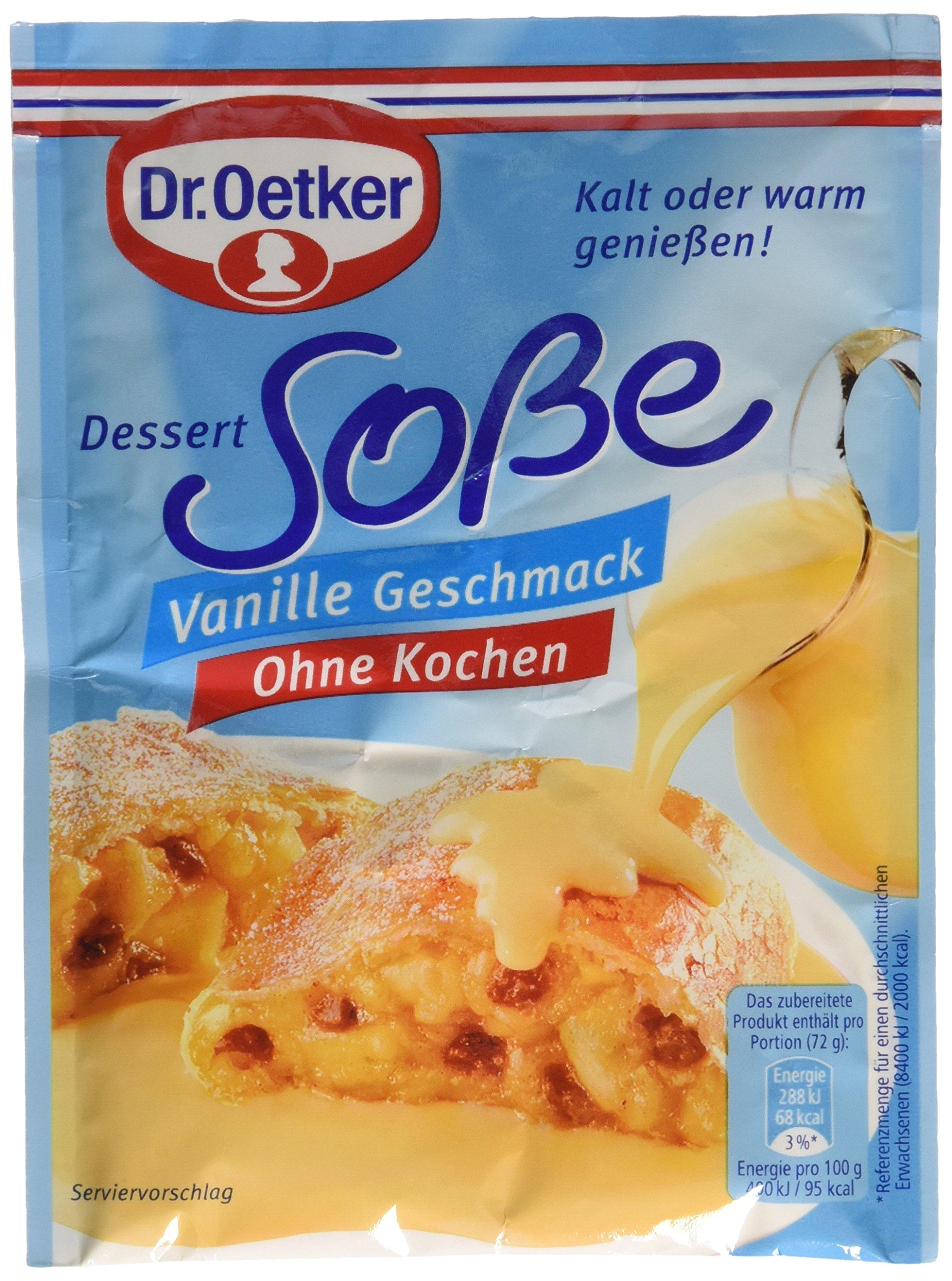 Vanillesoße Dr Oetker