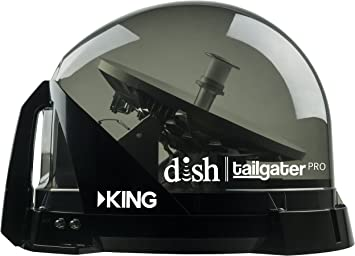 Brand New DISH Network Tailgater PRO HD RV Bundle with Wally Receiver VQ4900