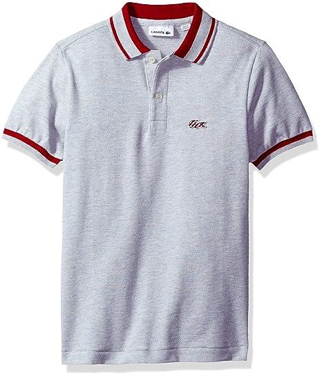 7a1372a0 Amazon.com: Lacoste Boy Short Sleeve Candy Stripe Croc Polo: Clothing