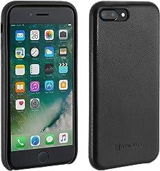 StilGut Premium Cover, Coque en Cuir pour iPhone 7 Plus