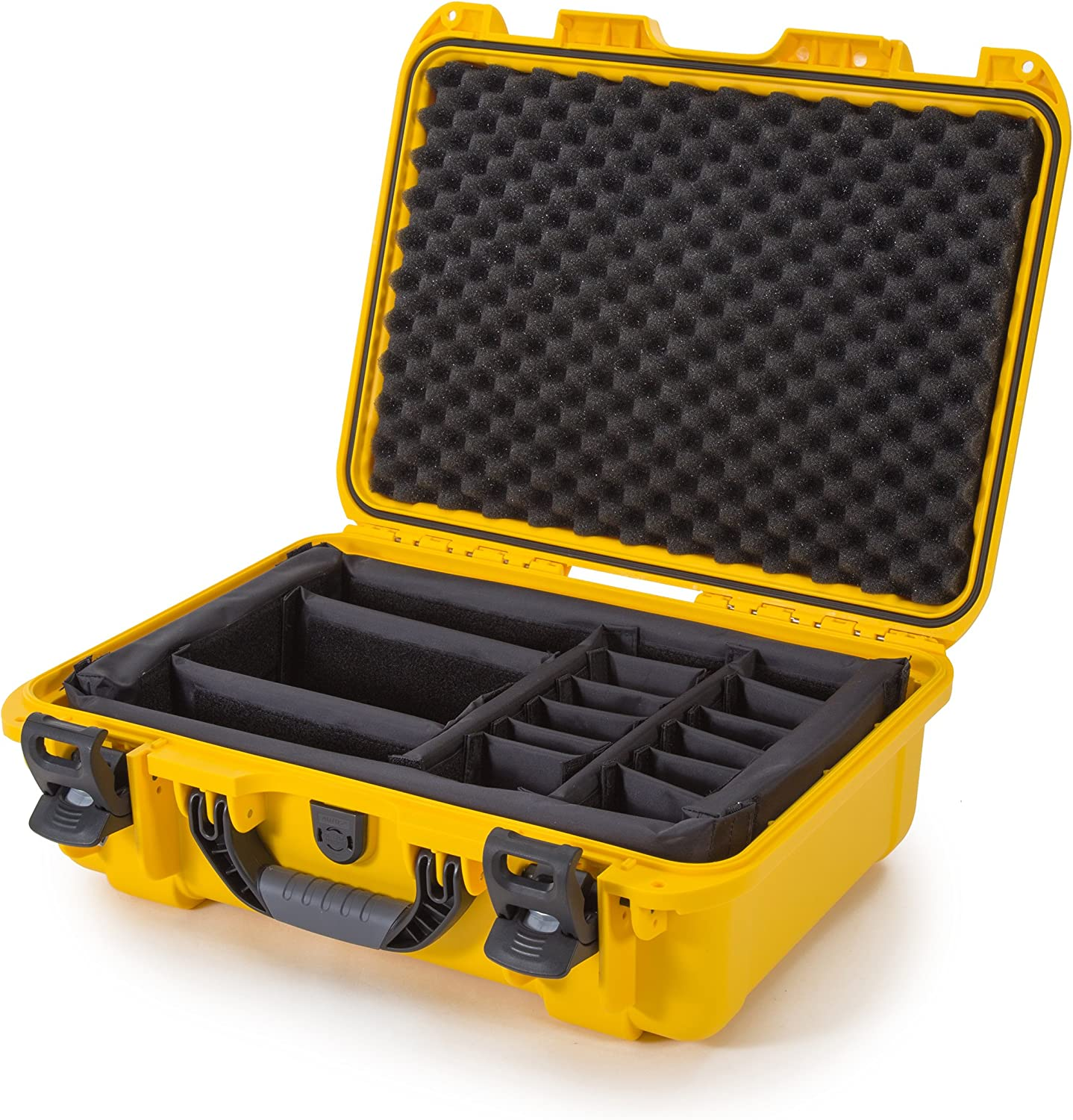 Nanuk 925 Waterproof Hard Case with Padded Dividers Silver