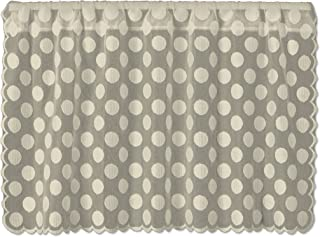 product image for Heritage Lace Cafe Tier, 42 by 30-Inch, Polka Dot