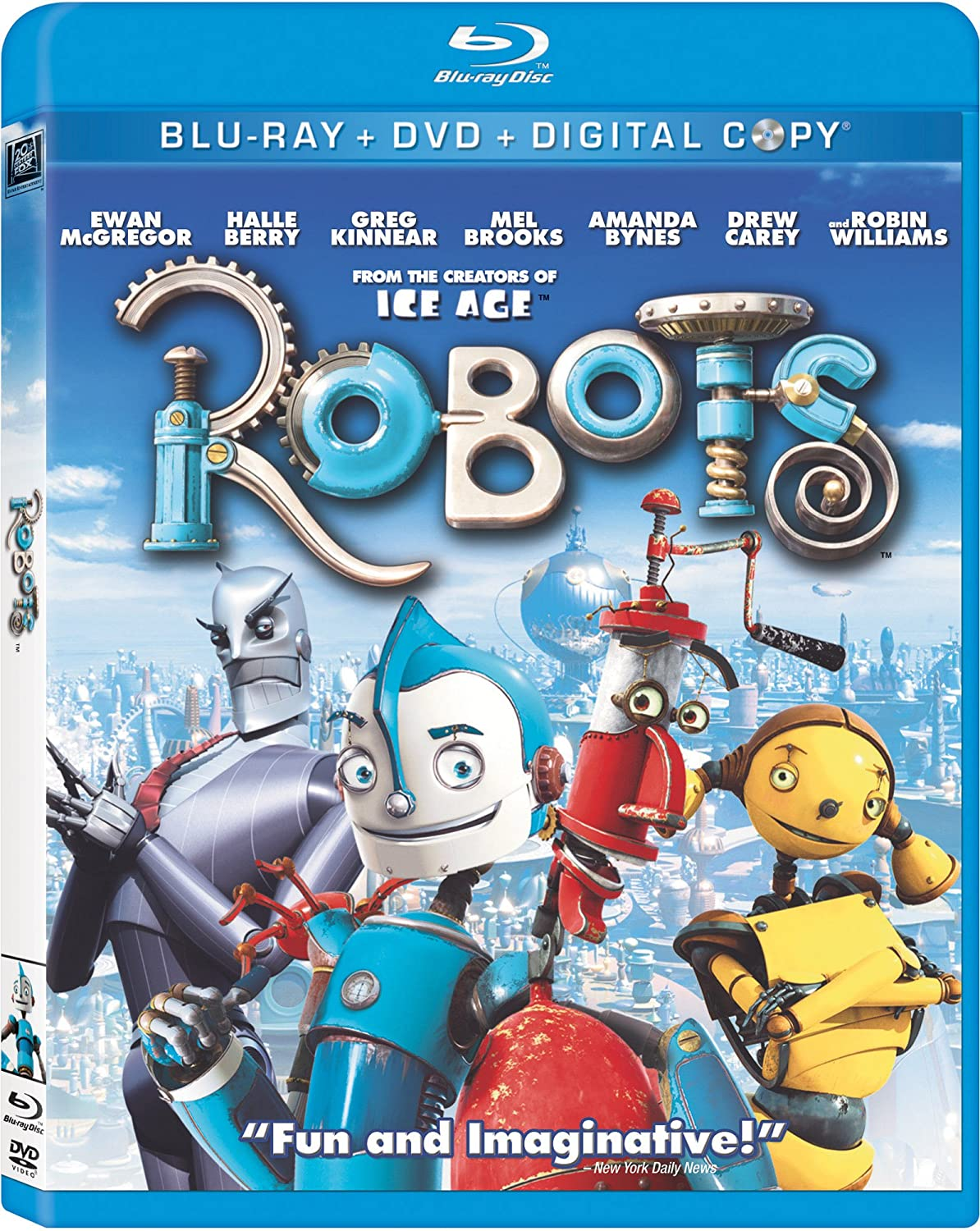 Robots Dreamworks Movie 2 Robots cartoons to color ...