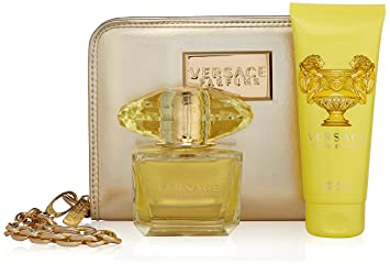 Amazon.com : Versace Yellow Diamond 3 Piece Gift Set for Women ...