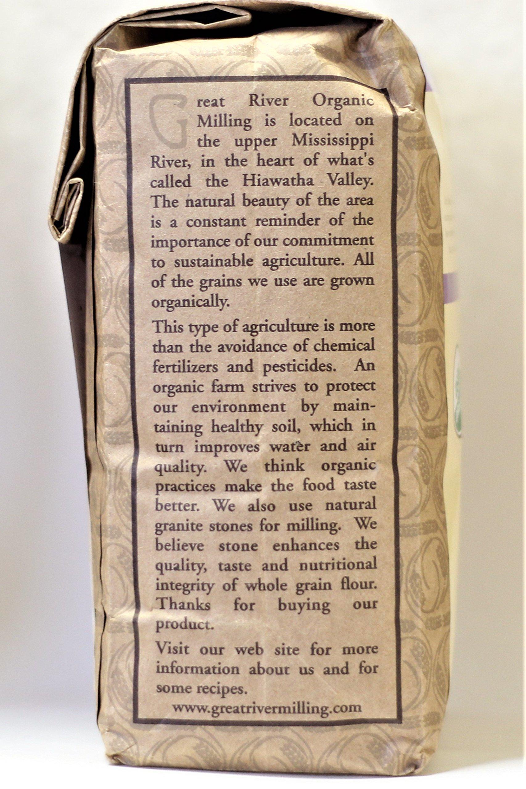 Great River Organic Milling Organic Buckwheat Flour, 2 Pound by Great River Organic Milling (Image #4)