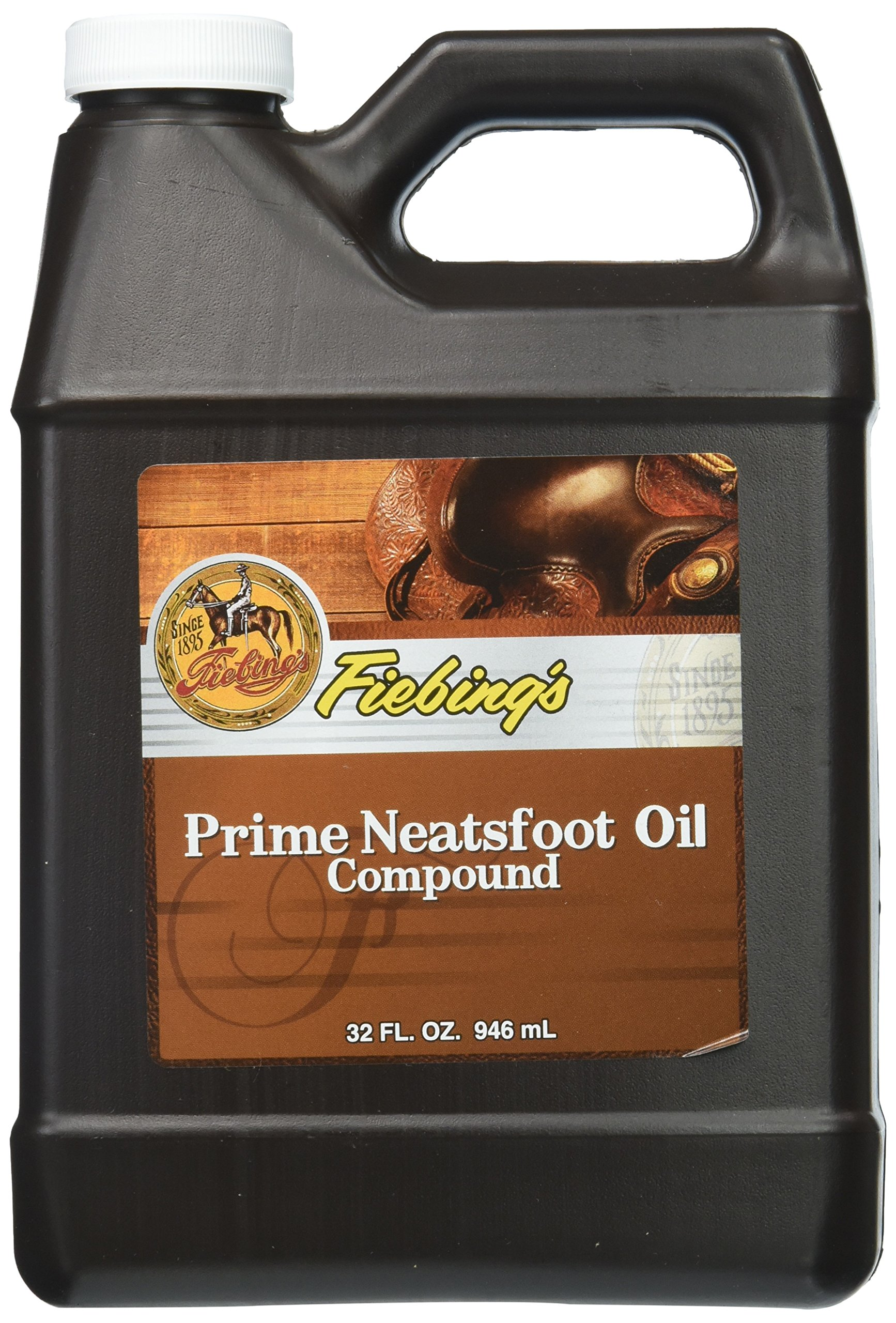 Fiebing's Prime Neatsfoot Oil Compound Leather Conditioner Size: 32 oz.