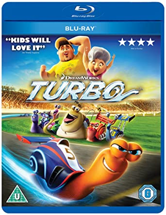 Turbo [Edizione: Regno Unito] [Italia] [Blu-ray]: Amazon.es: Cine y Series TV