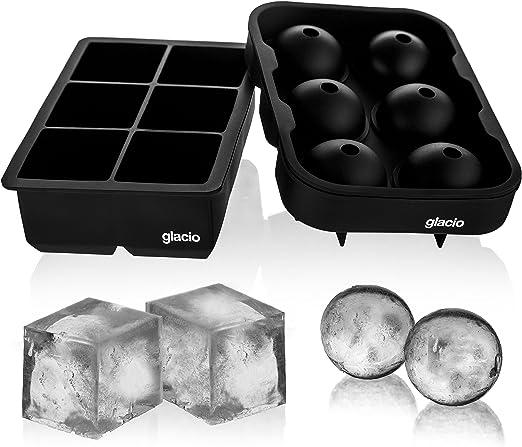 Moldes Glacio para cubitos de hielo y helados, tamaño grande ...