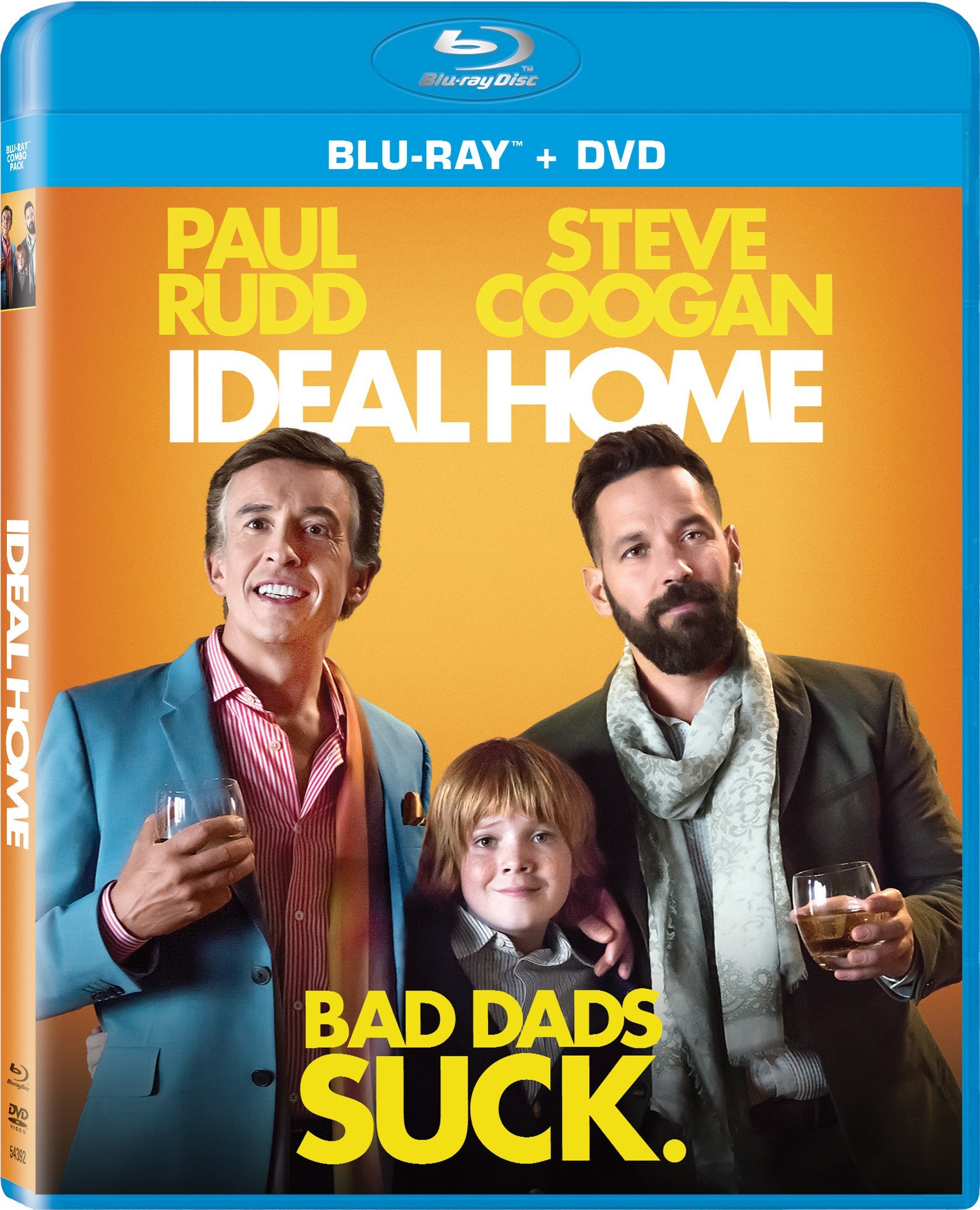 Blu-ray : Ideal Home (With DVD, Widescreen, Dolby, AC-3, 2 Pack)