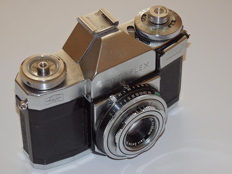 Zeiss Ikon Contaflex Prima con Pantar 45mm f2.8 - Camara Vintage de 35mm