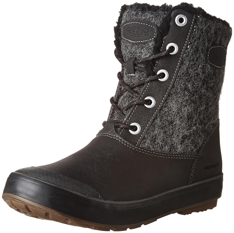 Black Wool KEEN Women's Elsa L WP Mid Calf Boots