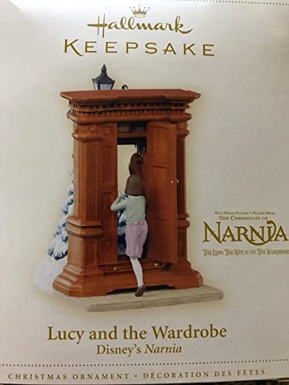 Hallmark Keepsake Ornament - Lucy and the Wardrobe From Disney's The  Chronicles of Narnia 2006 ( - Amazon.com: Hallmark Keepsake Ornament - Lucy And The Wardrobe From