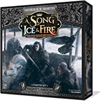 CoolMiniOrNot A Song of Ice and Fire Night's Watch Starter Set Board Games