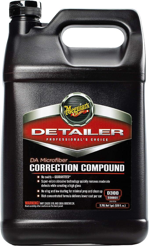 Meguiar S D30001 Detailer Da Microfiber Correction Compound Politur 3 78 L Auto