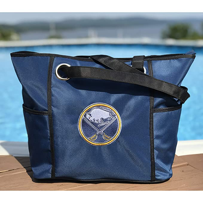 Amazon com : Charm14 NHL Buffalo Sabres Deluxe Tote Bag with