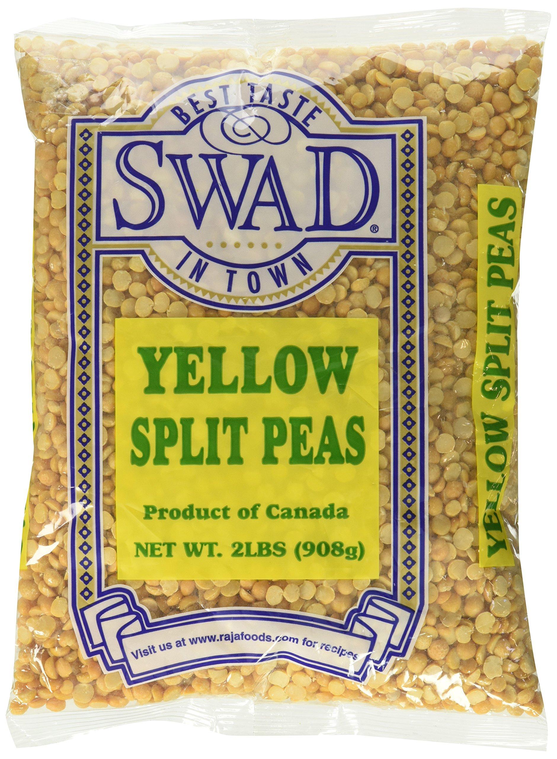 Great Bazaar Swad Split Peas, Yellow, 2 Pound