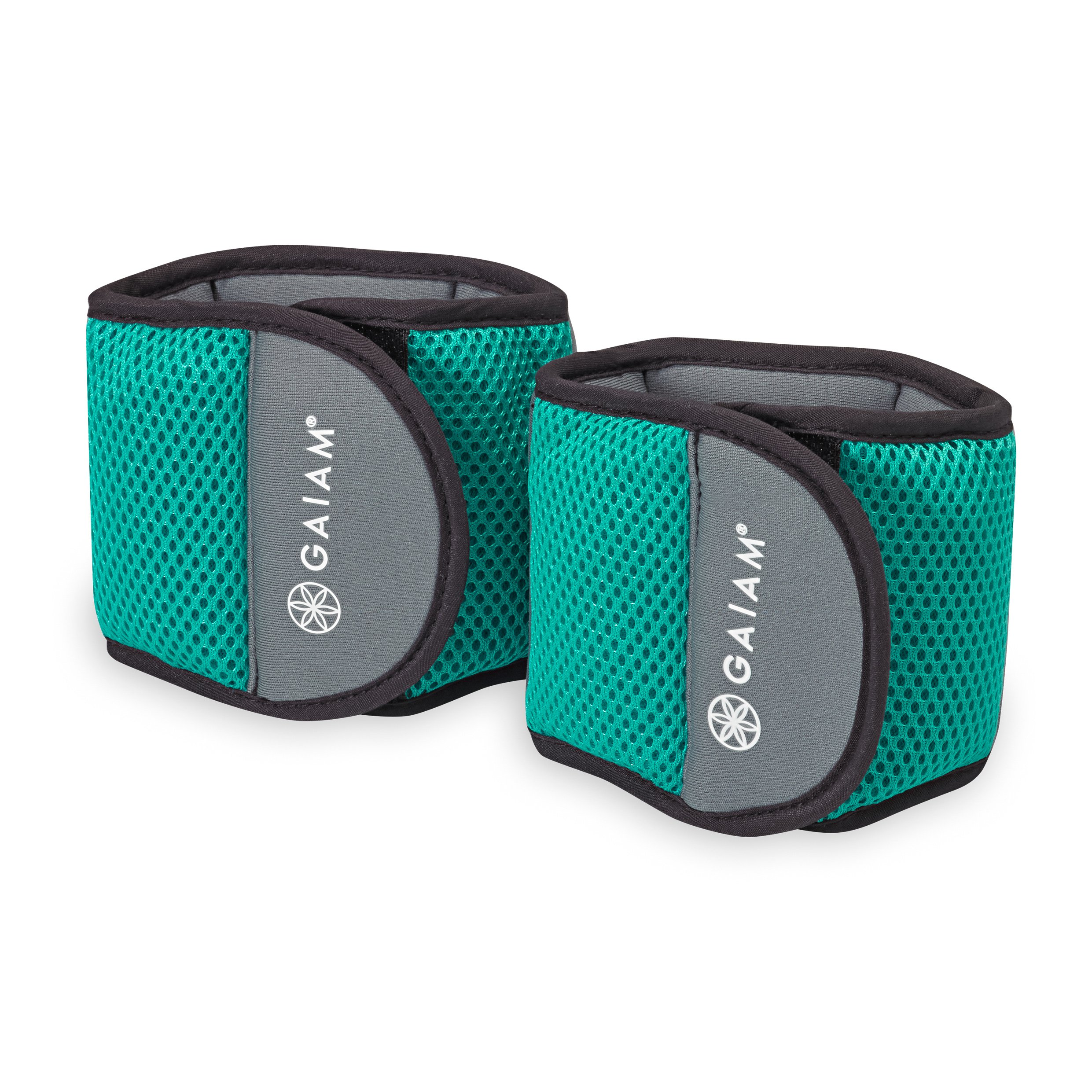 Gaiam Fitness Wrist Weights (3lb Set)