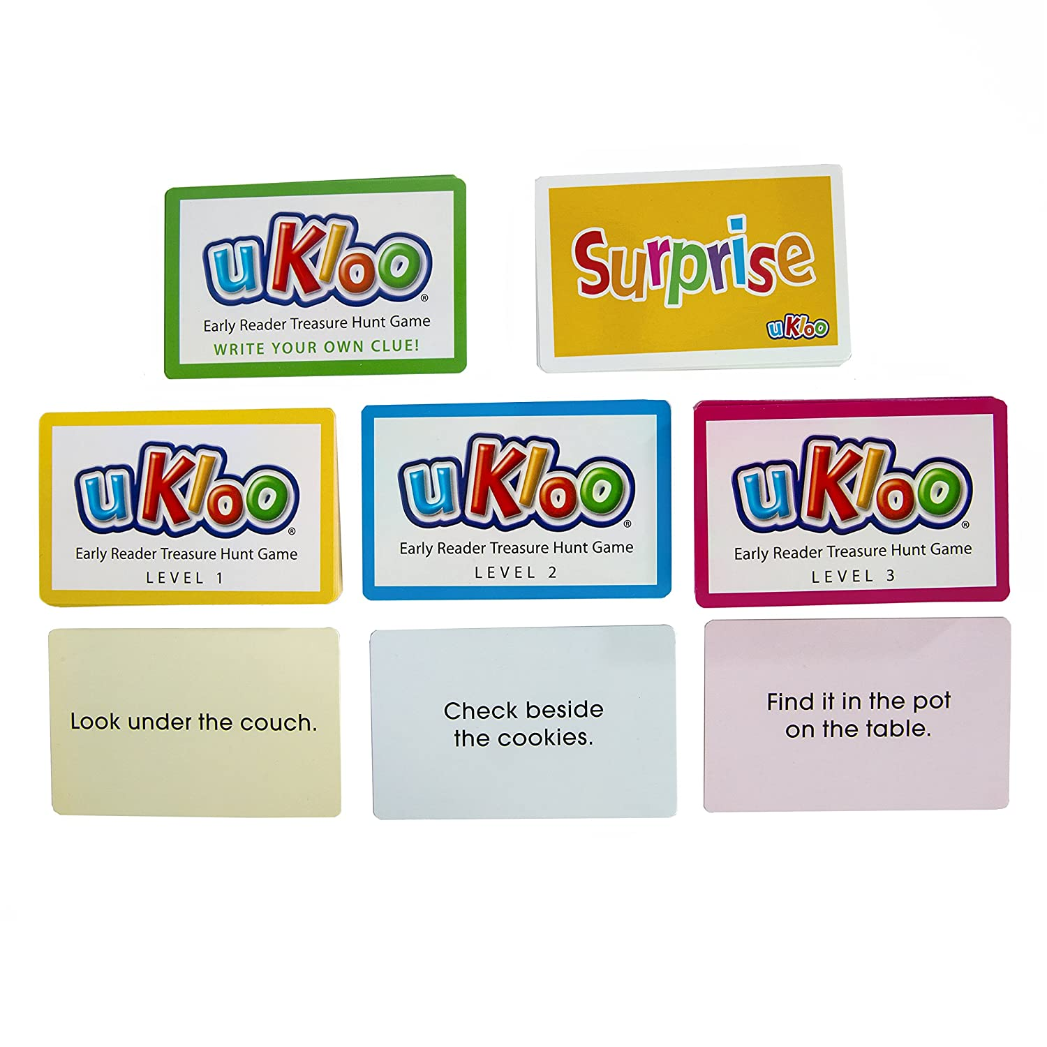 uKloo Early Reader Treasure Hunt Game uKloo Kids Inc. UKLOO1 ...