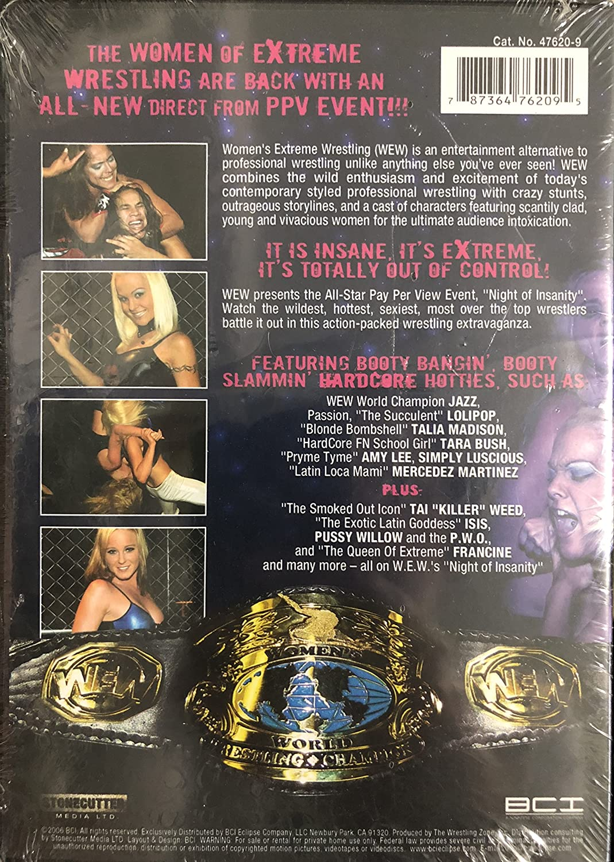 Amazon.com: Women's Extreme Wrestling: Night of Erotic Insanity: Movies & TV